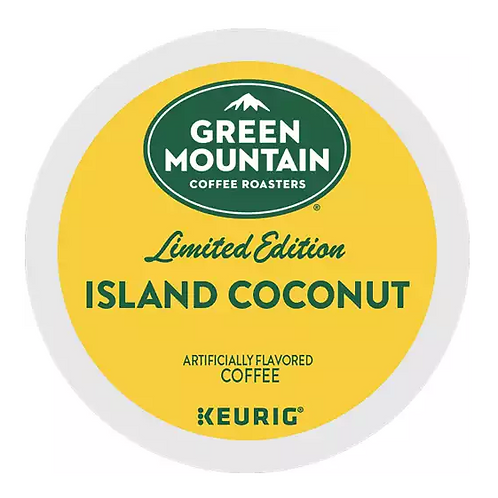 Green Mountain Coffee – Island Coconut Coffee