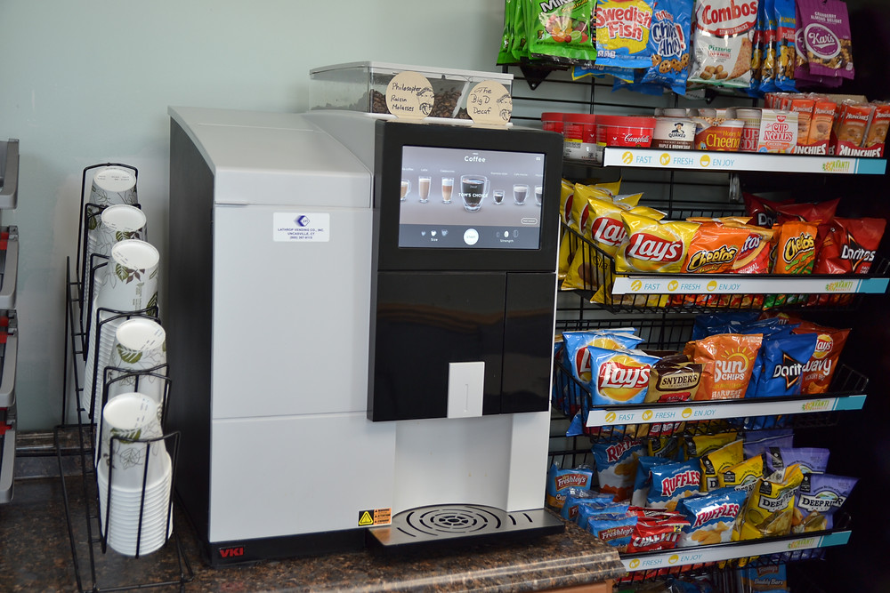 Lathrop Vending Bean to Cup Coffee Machines and Services