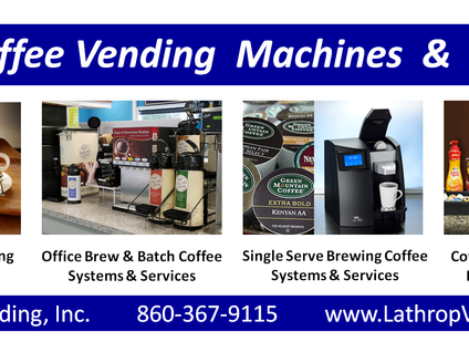 Coffee Vending Machines and Services