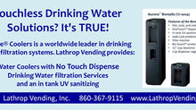 Touchless Drinking Water Solutions?