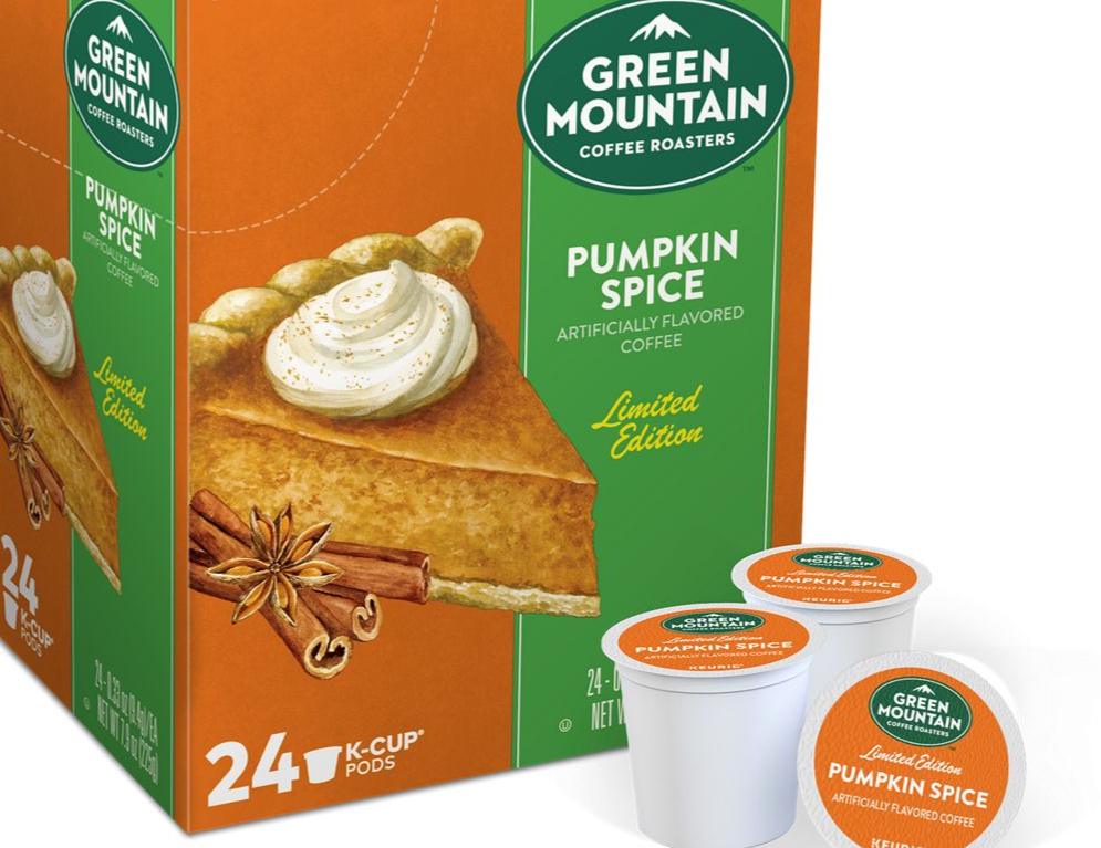 Green Mountain Pumpkin Spice - Lathrop Vending