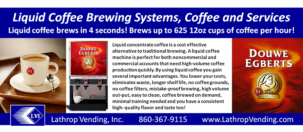 Liquid Coffee Brewing Systems & Services - Lathrop Vending
