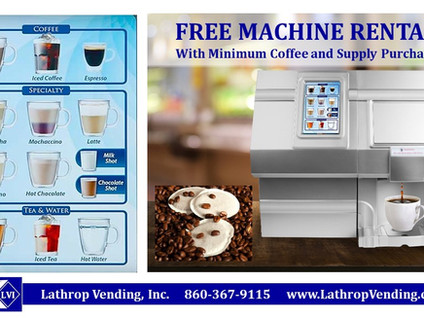Coffee Pods? Coffee Machine Services?