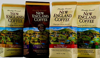Lathrop Vending offers New England Ground Coffee