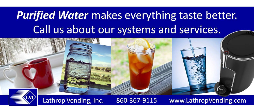 Purified Water Vending Services - Lathrop Vending