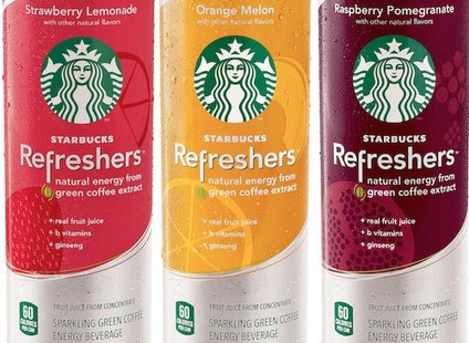 We now have Starbucks Refreshers!