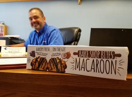 Lathrop Vending Bake Bites Macaroon's!