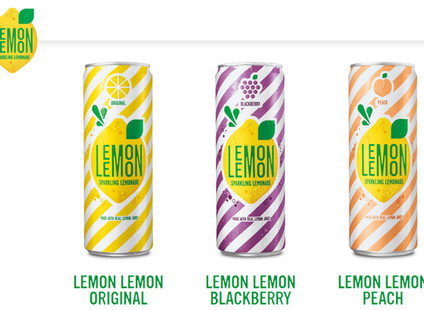 Lathrop Vending Carries Lemon Lemon Sparkling Lemonade!