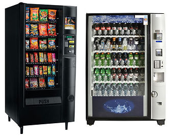 Cold Food and Beverage Vending Machines