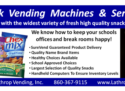 Snack Vending Machines & Services