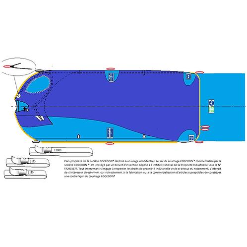 Kit couchage GRANDE TAILLE et liaisons C2AG