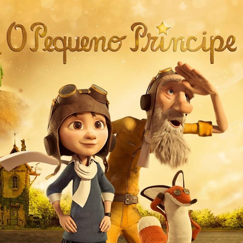 Exibição do filme: O pequeno príncipe + Distribuição de lanches