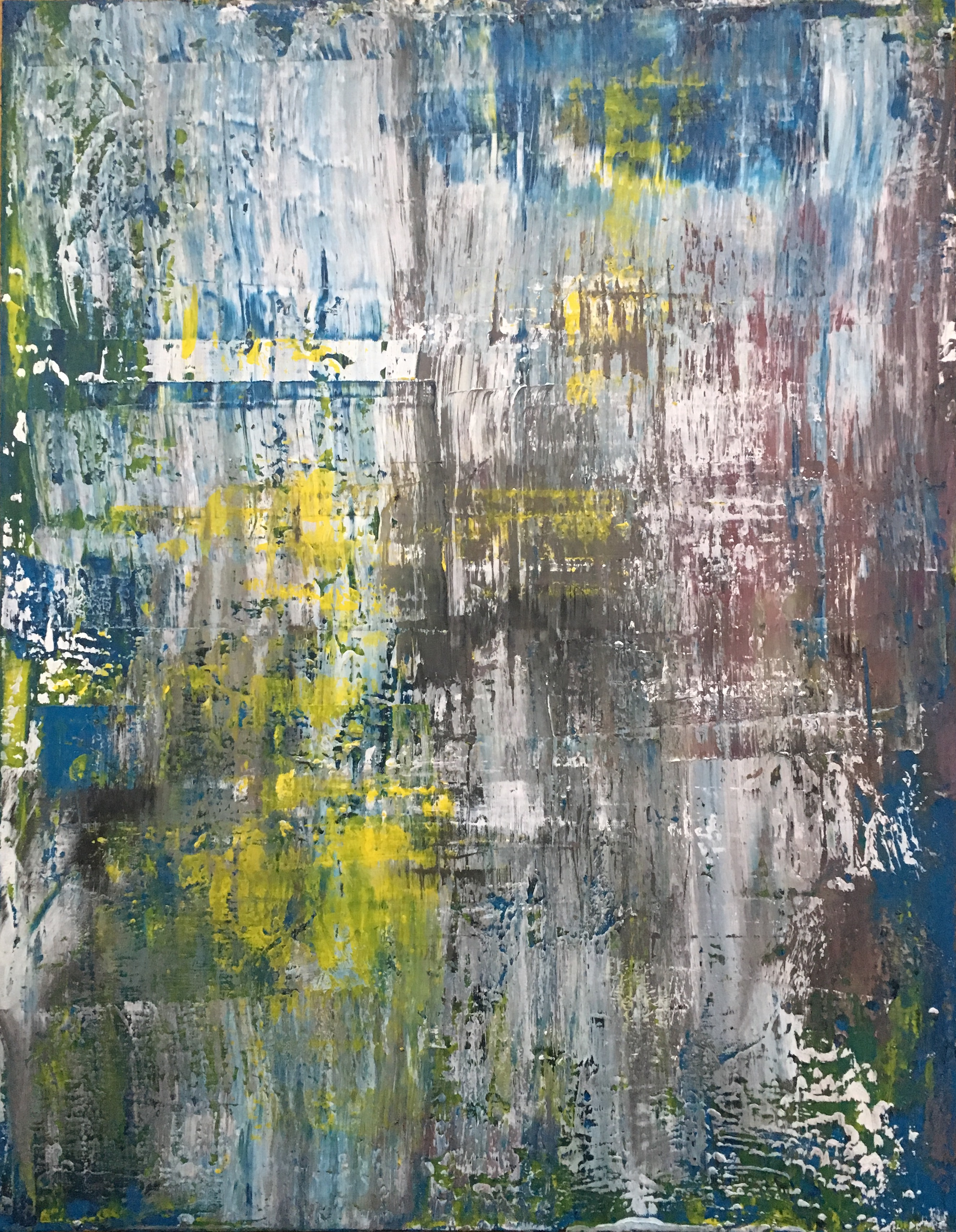 HERBST | Öl & Acryl 70 x 90