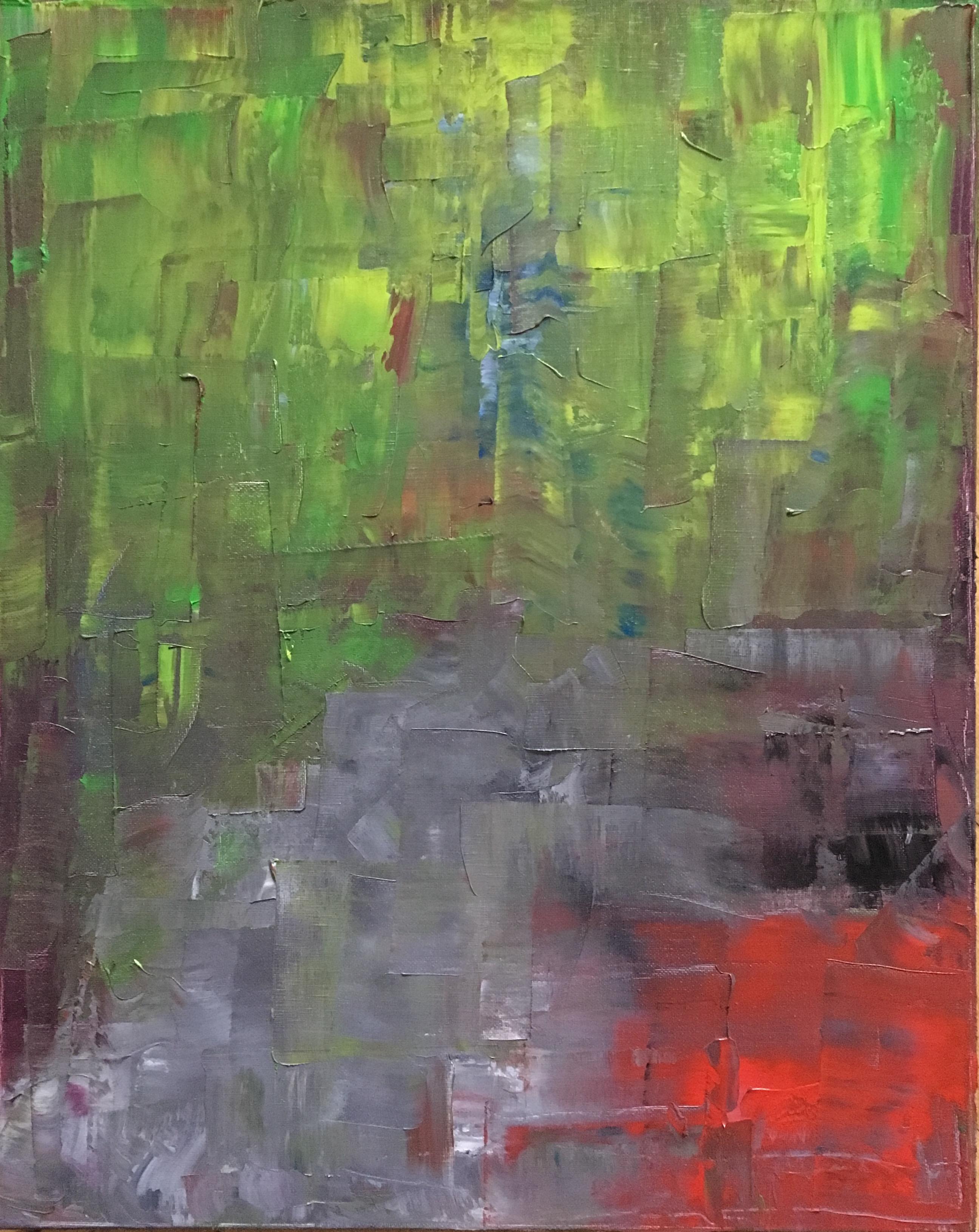 DER WEG | Öl 40 x 50