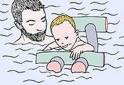 bébés nageurs toulouse, femmes enceintes, activités bébés