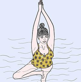 yoga aquatique toulouse