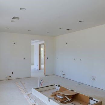 drywall and sheetrock installation with painting