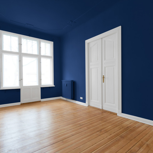 Flooring installation and painting