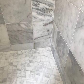 Remodel of bathroom, tile installation