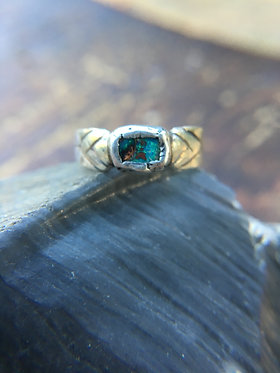 Opal Gaiametric Ring