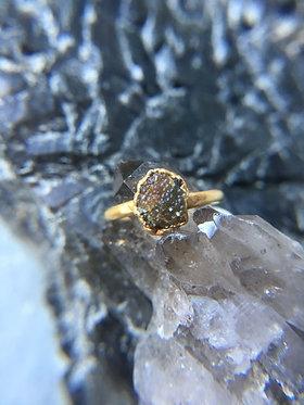 Gobi Caviar Agate Ring