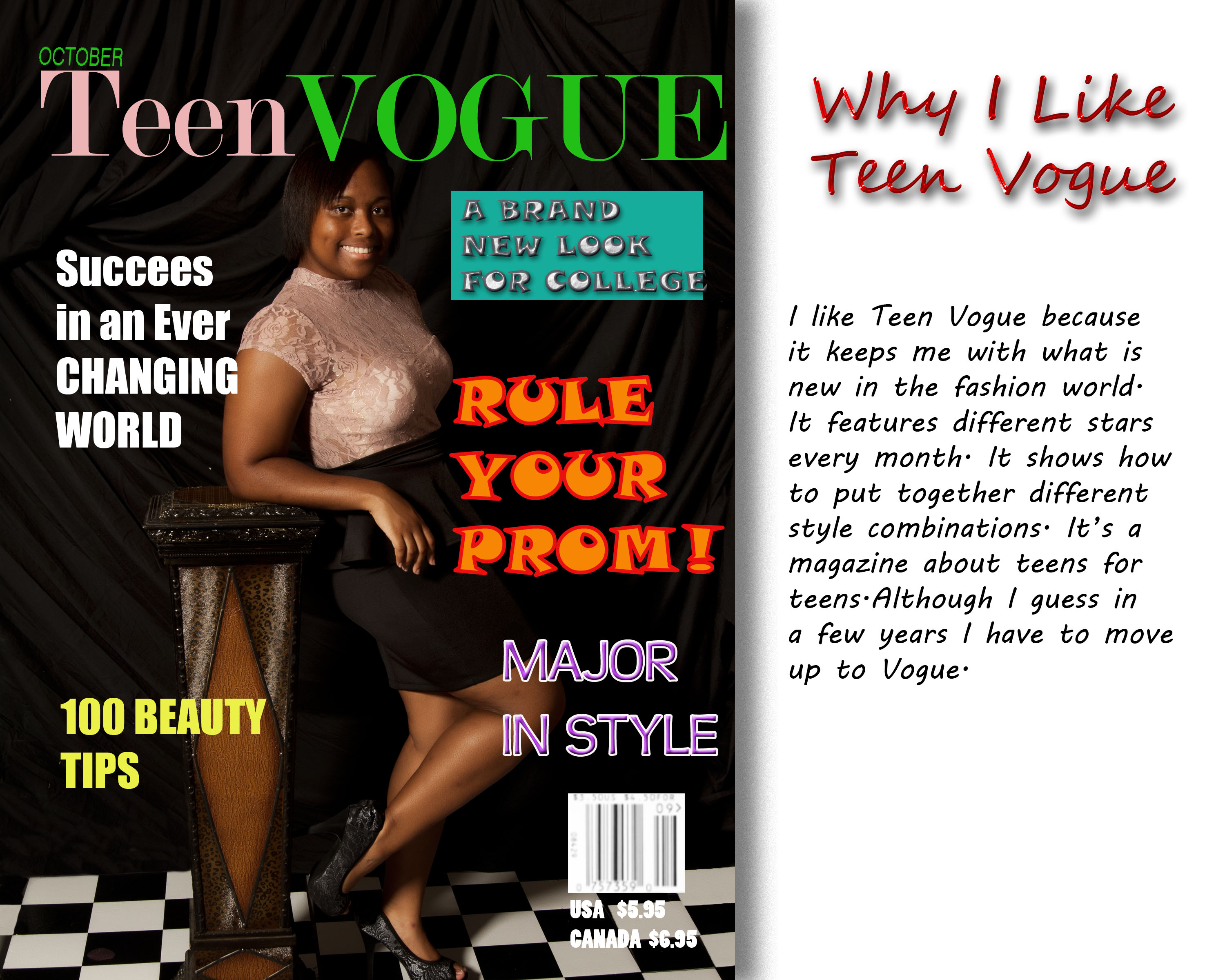 Teen Vogue Cover Page