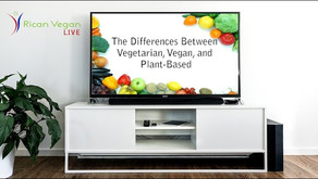 Vegan, Vegetarian and Plant-Based - What's the Difference?