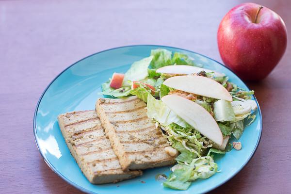 Rican Vegan Grilled Mojo Tofu