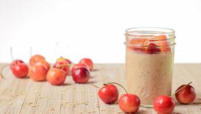 Cherry Vanilla Overnight Oatmeal