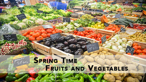 What Are The Best Spring Time Fruits and Vegetables?