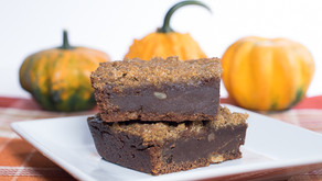 Streusel Topped Pumpkin Brownies