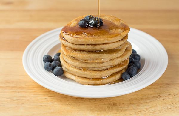 Rican Vegan Fluffy Vegan Pancakes