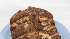 Vegan Coconut Marble Cake