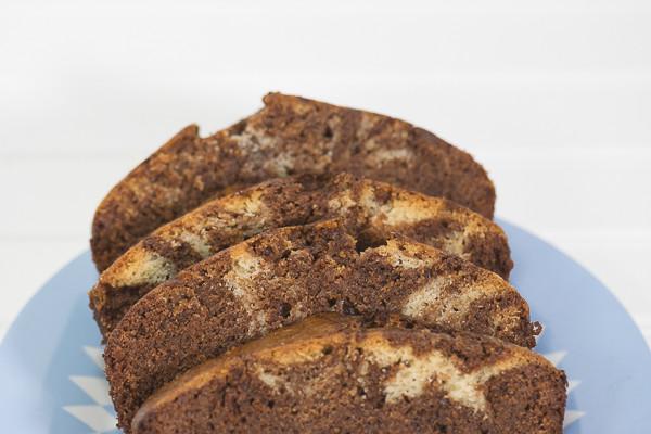 Rican Vegan Coconut Marble Cake