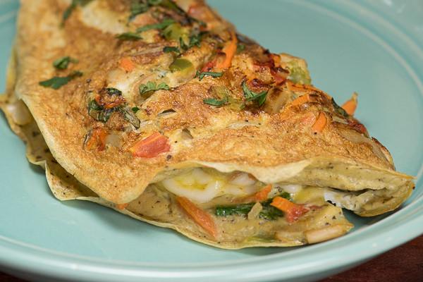 Rican Vegan Vegan/Vegetarian Omelet recipe