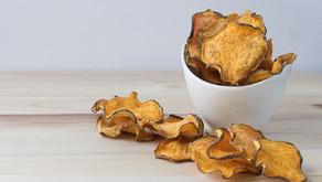Baked & Crispy Sweet Potato Chips