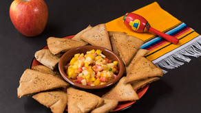 Fruit Salsa with Baked Pita Chips
