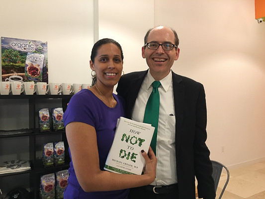 Rican Vegan Desiree and Dr. Michael Greger