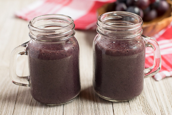 Rican Vegan Cherry Berry Smoothie