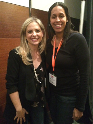 Rican Vegan with Sarah Michelle Gellar