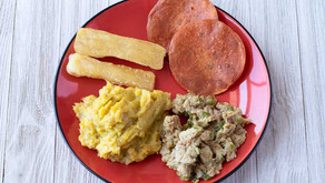 A Traditional Dominican Breakfast Veganized