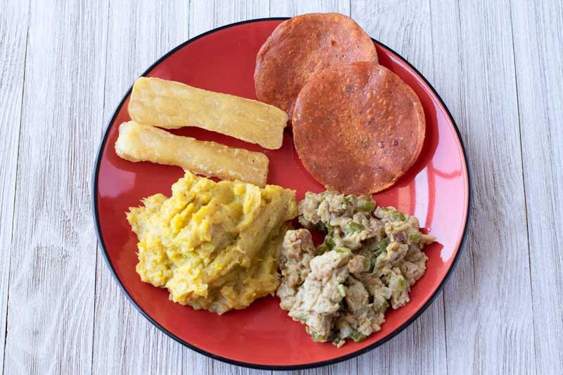 Vegan Dominican Breakfast