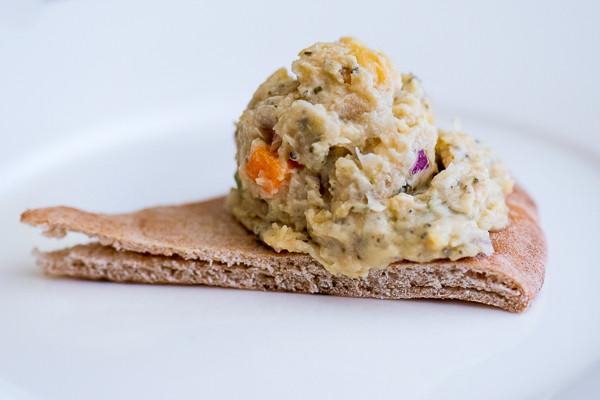 Rican Vegan Tuno Salad (Chickpea Salad)