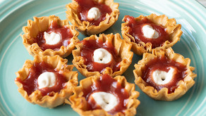 Vegan Guava and Cheese Mini Tarts