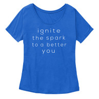 Women's Slouchy Ignite Slogan Tee.jpg