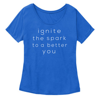 Women's Slouchy Ignite Slogan Tee.jpg