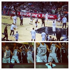 Spurs Game 2014