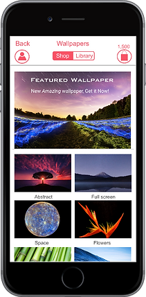 cool iOS keyboard wallpapers