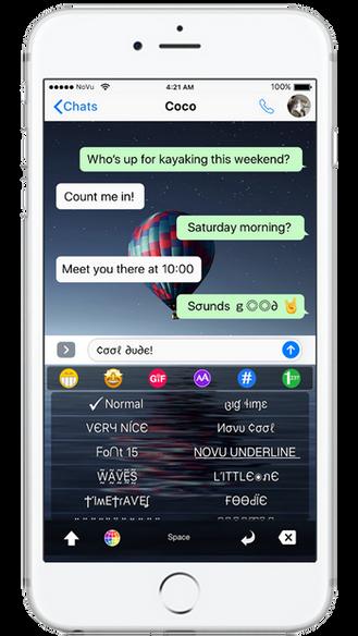 best font keyboard app