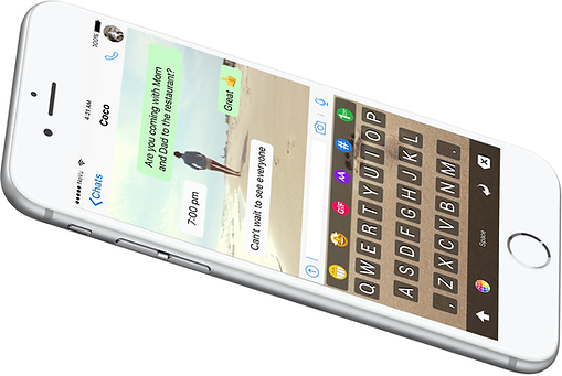 iOS keyboard app